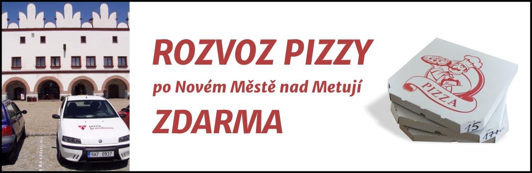 pizza rozvoz zdarma